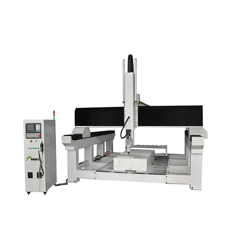 China 5 Axis CNC Router with Z Axis 1000mm for Wood Aluminum Mold Making