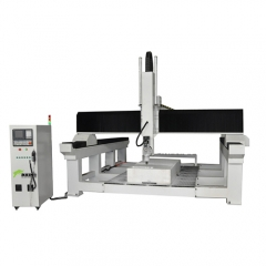 4 Axis CNC Milling Machine with ATC fuction Spindle 180 Degree Rotate