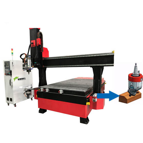 CNC Router Machine with ATC Funtion and extra drilling head for sale
