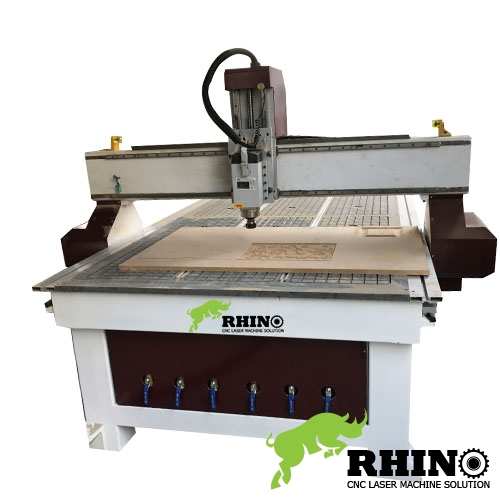 Vacuum table Wood CNC Mill Machine for Sale