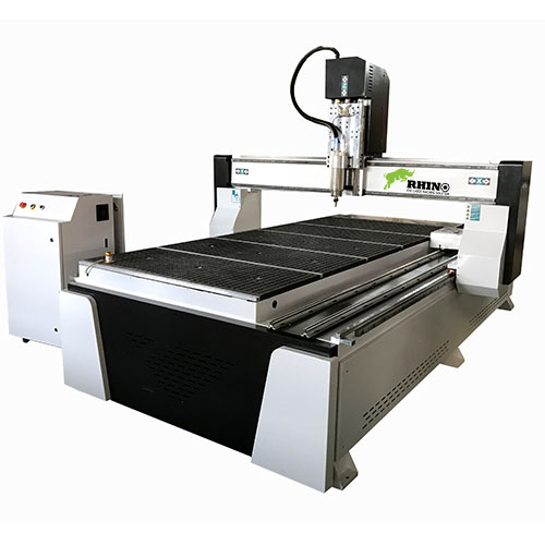 4 Axis CNC Router for Woodworking with rotary attachment