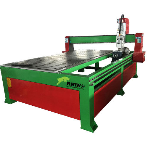 Popular Rotary CNC Woodworking Router Machine