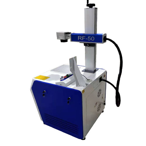 Fiber Deep Metal Marking Machine 50w FR-50