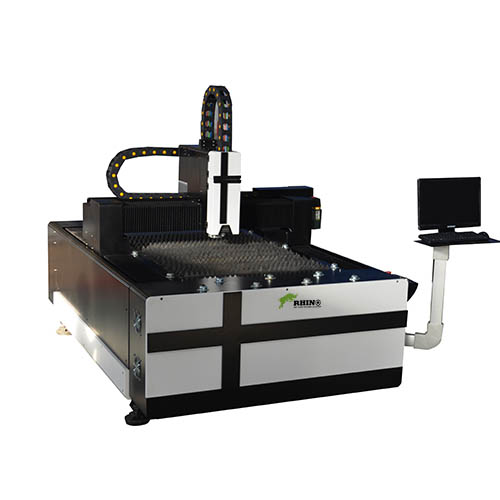 4x8ft Fiber Laser Cutting Machine 750w for Steel Cutting