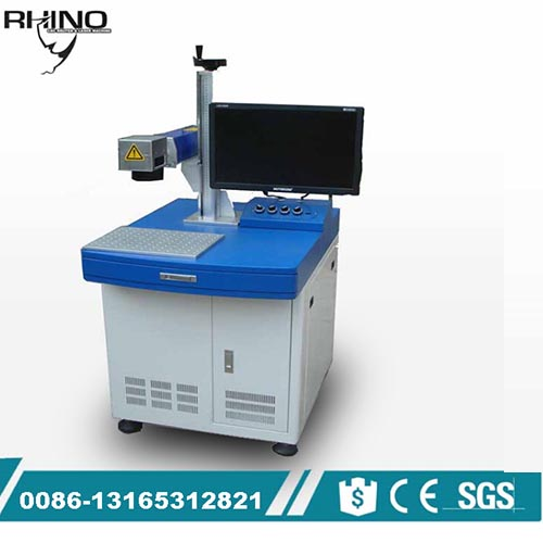 20W Fiber Laser Marking Machine for Stainless Steel Aluminum Copper Metal
