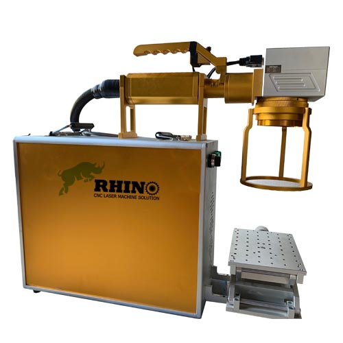 Hand-held Fiber Marking Machine RF-20H for Metal