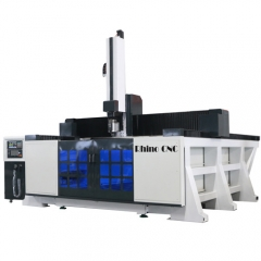 Economic 5 Axis CNC Router for Foam EPS Wood Aluminum Mould Making