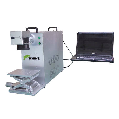 20w Portable Fiber Laser Marker for QR Code Marking